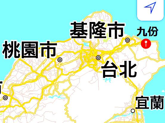 九份-台湾-おすすめ-地図-MAP