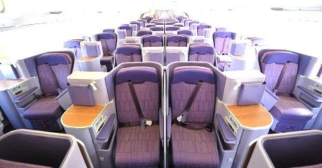 TG-ビジネスクラス-タイ航空-シート-ロイヤルシルク-3