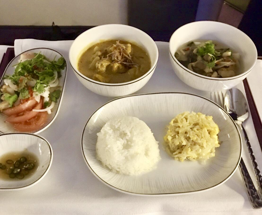タイ航空-機内食-メニュー-タイ料理-6