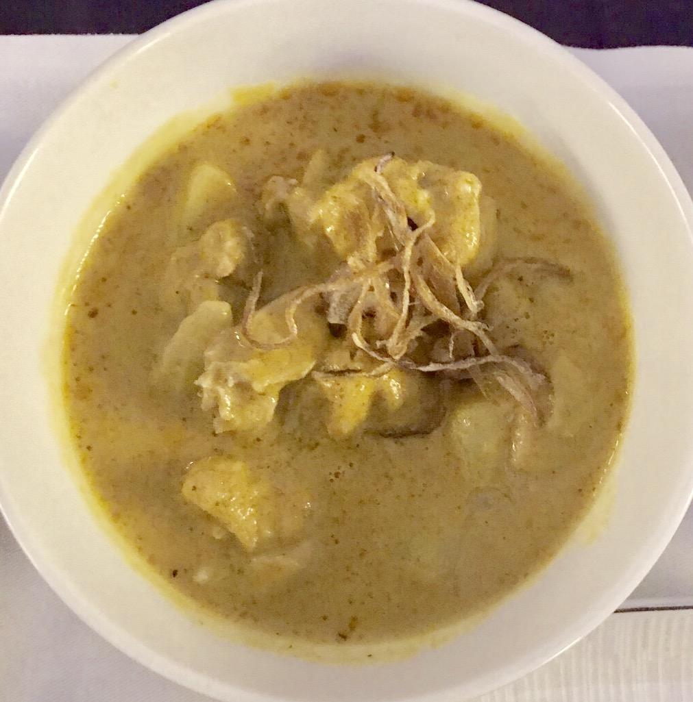 タイ航空-機内食-メニュー-タイ料理-4