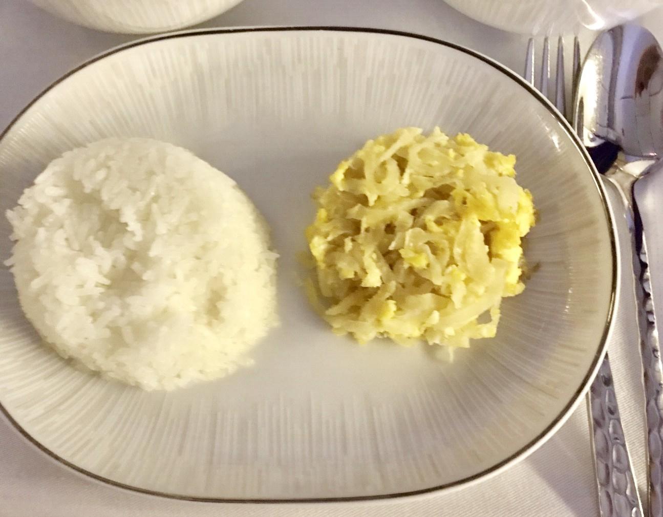 タイ航空-機内食-メニュー-タイ料理-2