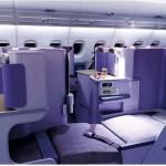 タイ航空のビジネスクラスを検証★シートや機内食を見てみよう〜