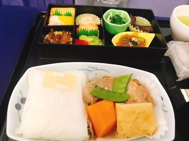 ana-ビジネスクラス-上海-羽田-機内食