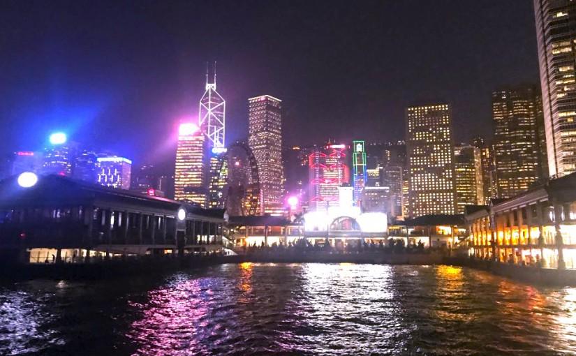 香港フェリーターミナル-