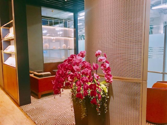 バンコク空港-ラウンジ-シンガポール航空-ANA-ビジネスクラス-9
