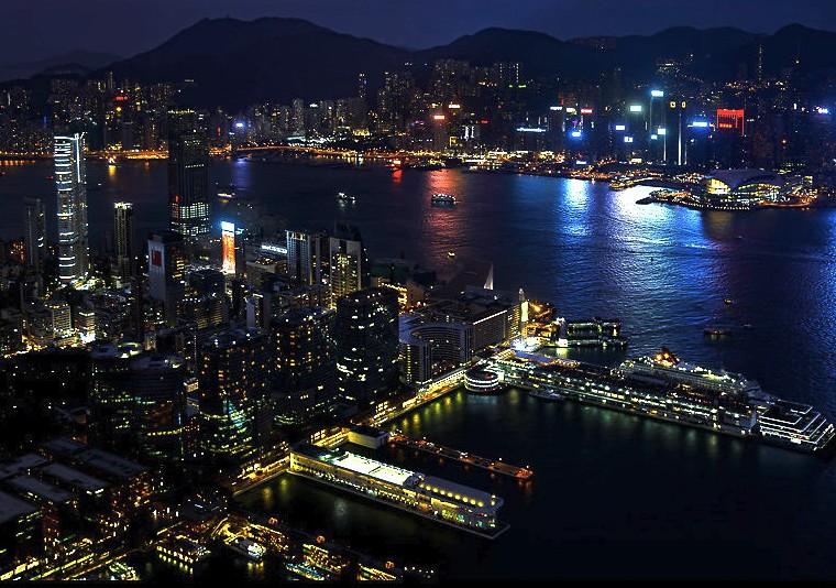香港-展望台-景色-スカイ100-11