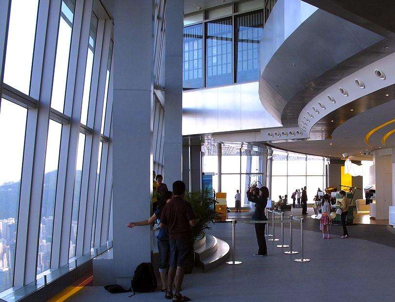 香港-展望台-景色-スカイ100-44