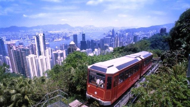 ビクトリアピーク-香港-人気スポット