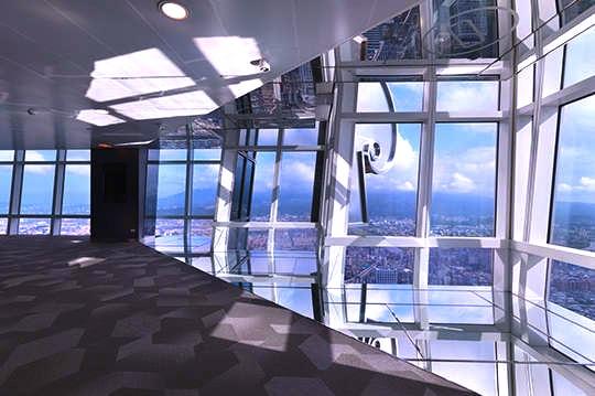 香港-展望台-景色-スカイ100-34