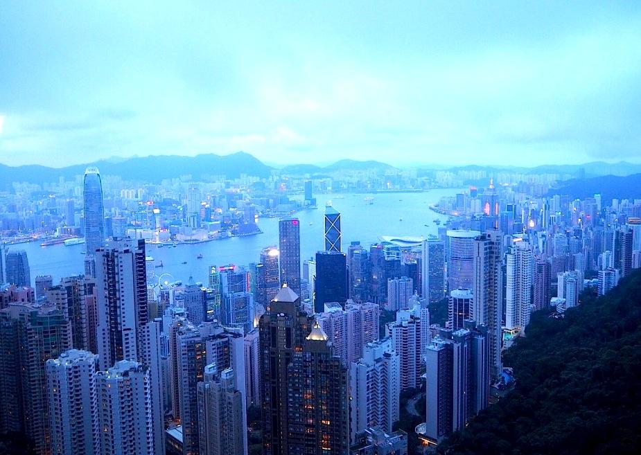 ビクトリアピーク-香港-夜景