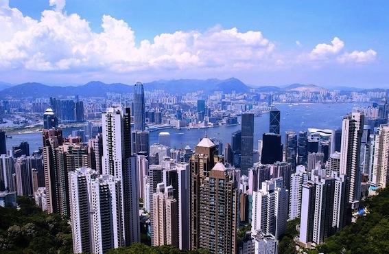 香港-ビクトリアピーク-1