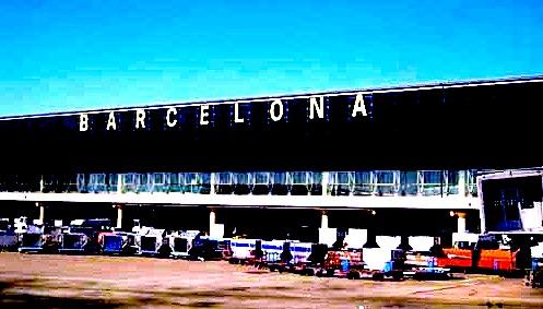 バルセロナ-空港-1