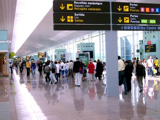 バルセロナ-空港-ビジネスクラス