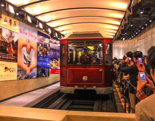 ビクトリアピーク-香港-トラム-3