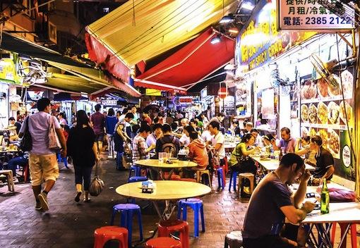 香港-繁華街-ナイトマーケット-モンコック-1
