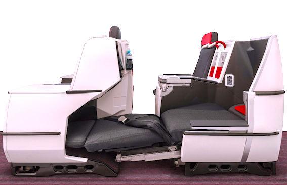 オーストリア航空-フルフラット-ビジネス