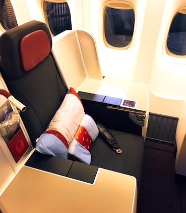 オーストリア航空-ビジネスクラス-シート-8i
