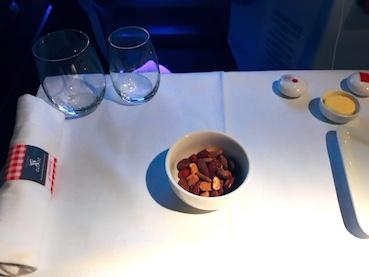 オーストリア航空-ビジネスクラス-機内食-2