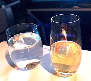 オーストリア航空-ビジネスクラス-機内食-3