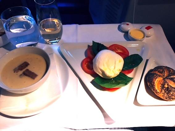 オーストリア航空-ビジネスクラス-機内食-7