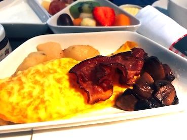 オーストリア航空-ビジネスクラス-朝食-2