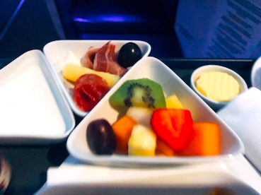 オーストリア航空-ビジネスクラス-朝食-3