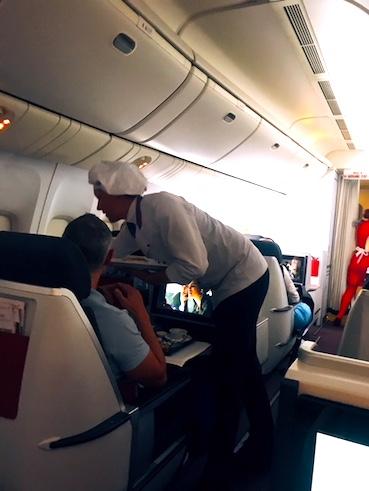 オーストリア航空-ビジネスクラス-朝食-4