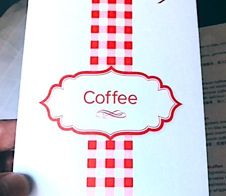 オーストリア航空-コーヒー