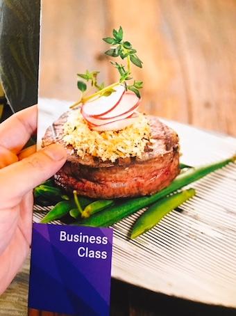 アシアナ-ビジネスクラス-機内食-1