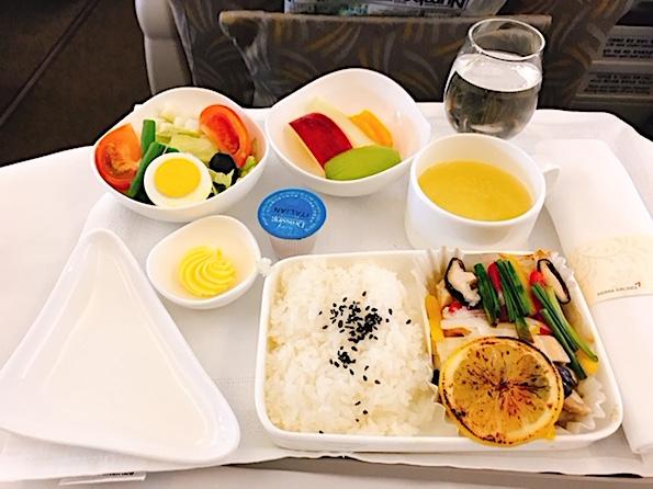 アシアナ-ビジネスクラス-機内食-4