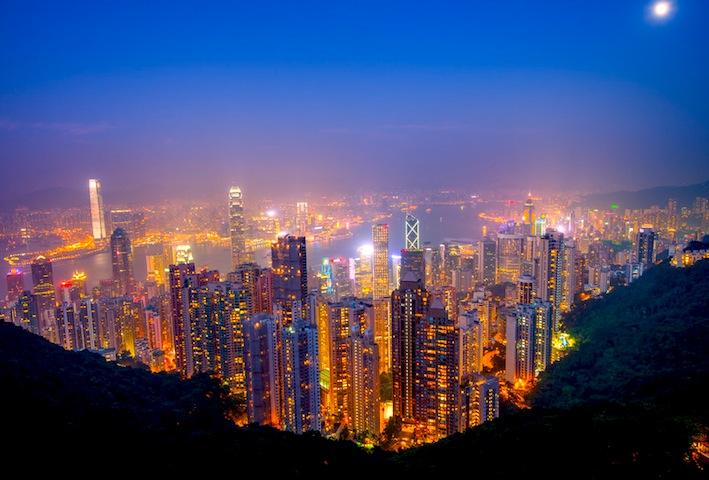 香港-ビクトリアピーク-夜景-3