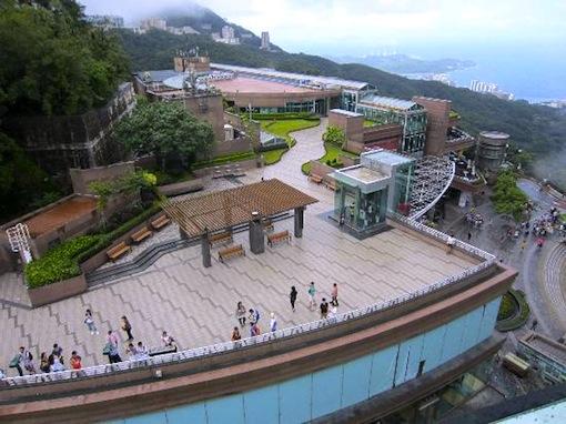 香港-ビクトリアピーク-行き方-アクセス-ピークタワー