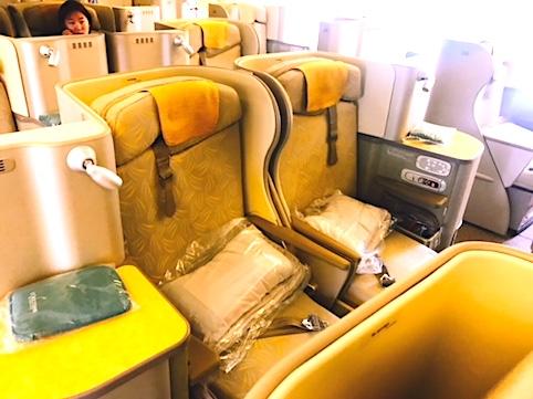 アシアナ航空-ビジネスクラス-シート-スタッカード-1
