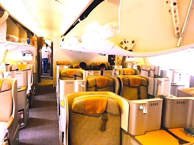 アシアナ航空-ビジネスクラス-シート-スタッカード-6