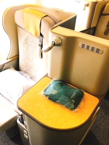 アシアナ航空-ビジネスクラス-シート-パリ-22