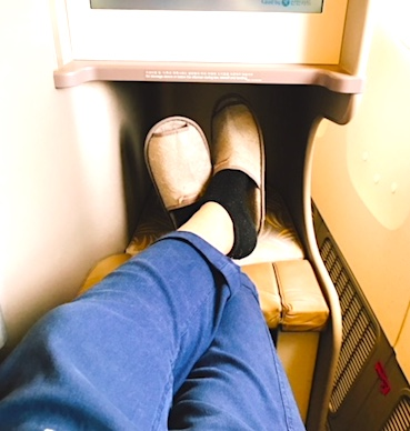 アシアナ航空-ビジネスクラス-シート-パリ-26