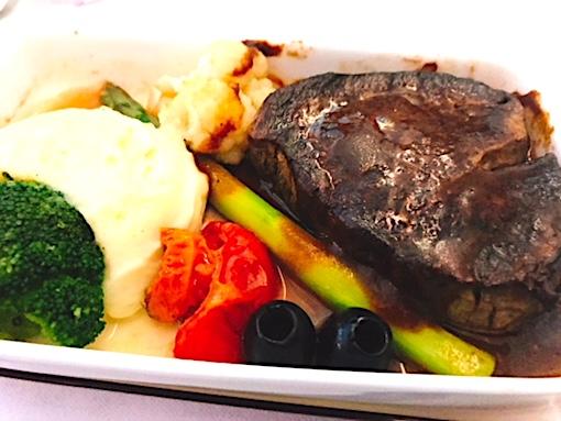 アシアナ航空-ビジネスクラス-機内食-パリ-5