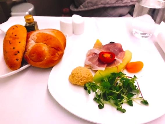 アシアナ航空-ビジネスクラス-機内食-パリ-3