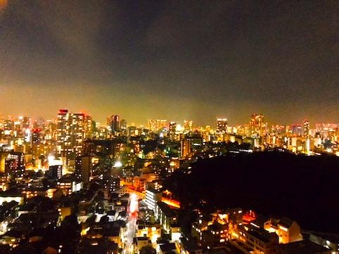ウェスティン東京-スイート-ホテル-夜景