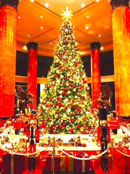 ウェスティン東京-クリスマス-ロビー-6