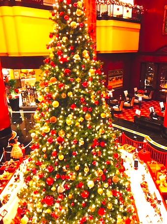 ウェスティン東京-クリスマス-ロビー-4