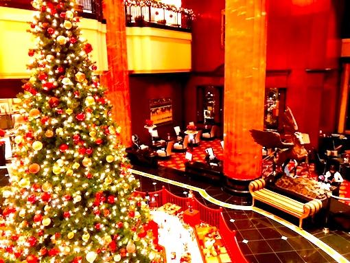 ウェスティン東京-クリスマス-ロビー-3
