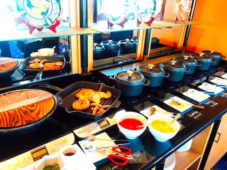 ウェスティンホテル東京-朝食-ブッフェ-12