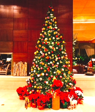 シェラトン東京-クリスマス-ロビー-3