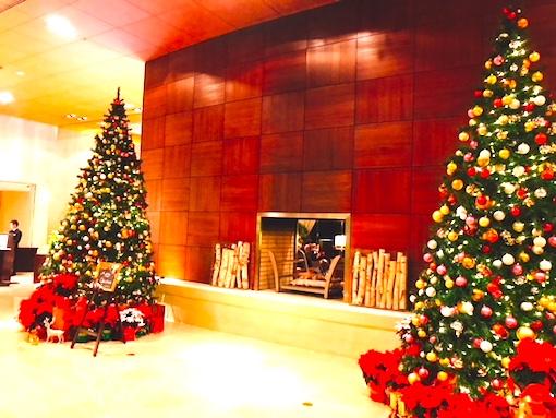 シェラトン東京-クリスマス-ロビー-2