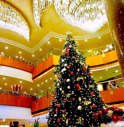 シェラトン横浜-クリスマス-ロビー-1