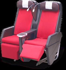 JAL-プレミアムエコノミー-座席-1